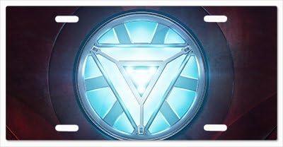 Heart of Iron Man Vanity License Plate Vanity License Plate