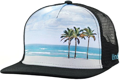 Cool Trucker Hat - The Beach by Lindo (big - Linda Fit