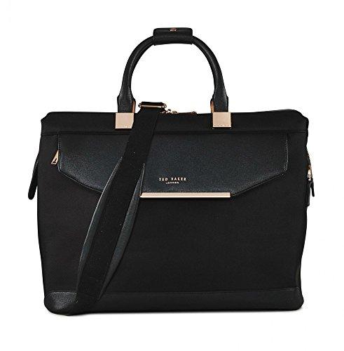 Ted Baker Womens Albany Softside Holdall Bag (Black)