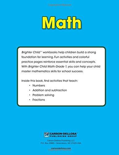 Math Workbook, Grade 1 (Brighter Child: Grades 1): Brighter Child ...