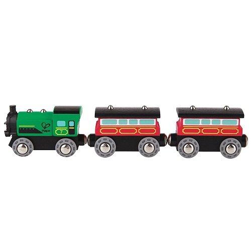 Hape Railway Steam-Era Passenger Train (Train Railway Steam)