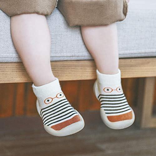 Babysocken Anti Rutsch Strümpfe Lauflernschuhe Baby Socken Weihnachtsgeschenk