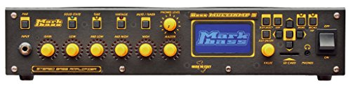 Markbass Bass Multiamp S Stereo 600W Bass Head with Effects Black 888365665467