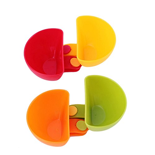 Dip Clip Clip On Chip & Dip Bowl Party Ware (2 Set of 8) by ieasycan