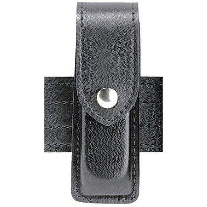 (Safariland 76 Single Handgun Magazine Pouch - STX Plain Black, Ambidextrous)
