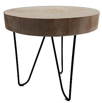 Aus baumscheibe fabulous tisch aus baumscheibe der for Esstisch viereckig