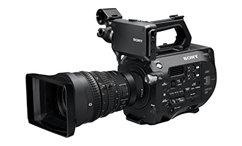 Sony PXW-FS7K 4K XDCAM Super35 Camera with 28 to 135mm E-Mount Zoom f|4 G OSS Lens, 1|3 to 1|9,000sec Shutter Speed