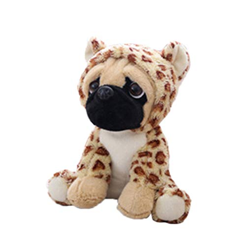 Pugs In Costumes (Haayward Large Plush Pug Dog Toys, Soft Cuddly Animal Toy in Costumes, Boy Girl Kids Birthday Gift 10)