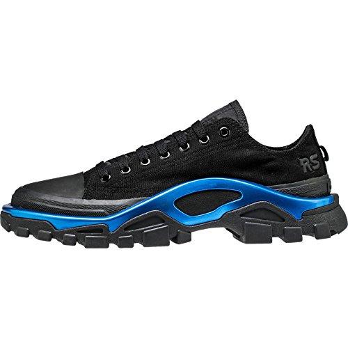 f5c5986d647d adidas x RAF Simons Men New Runner Black core Black Electric Blue Size 10.0  US