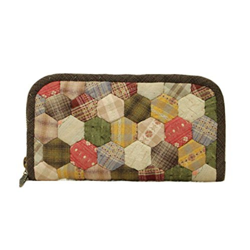 Granny Garden Purse Making Material Kit Wallet to Stitch and Give