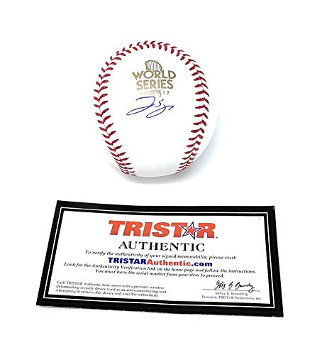 (George Springer Houston Astros Signed Autograph Official MLB World Series Baseball Tristar Authentic Certified)