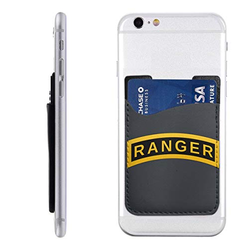 (Ranger Cell Phone Pockets Pouch Card Holder Wallet for Back of Phone)