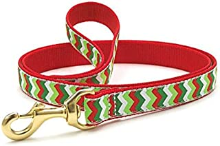 product image for Up Country Christmas Chevron Dog Leash 4' x 1""