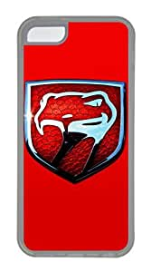 iPhone 5C Case, iPhone 5C Cases - Crystal Clear Protective Skin Case Cover for iPhone 5C Viper Customized Design Rubber Back Case for iPhone 5C