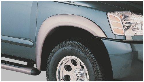- Bushwacker 70001-02 Nissan Extend-A-Fender Flare - Front Pair