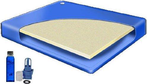 Super Single 48 x 84 Semi Waveless Waterbed Mattress by Better Sleep