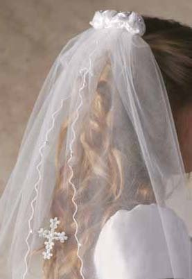 Girl's First Communion Veil -