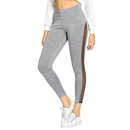 Beautyfine Sweatpants Women Casual Elastic Pants Length Trousers ()
