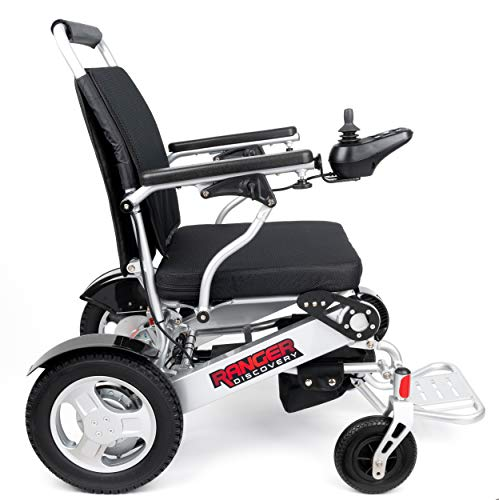 - Porto Mobility Ranger D09, No.1 Best Rated Exclusive Portable Power Wheelchair, Lightweight, Foldable, Heavy Duty, Dual Battery, Dual Motor Electric Wheelchair - 18.5