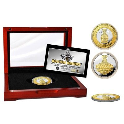 (NHL 2011 Stanley Cup Champions 2-Tone Coin)