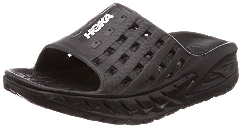 ORA Recovery nbsp; Recovery Sandals Black Anthracite Slide nbsp;Women's rr8qd4