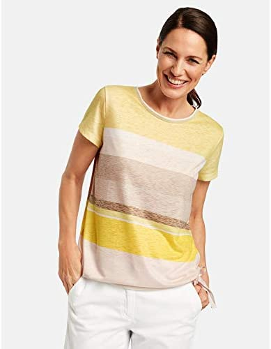 Gerry Weber damska koszulka z marszczoną lamÓwką: Odzież