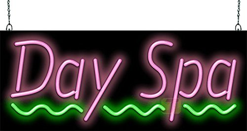 Day Spa Neon Sign ()