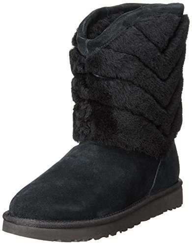 Women's Black Striped Tania Shearling UGG Boots q6Xt1Exw
