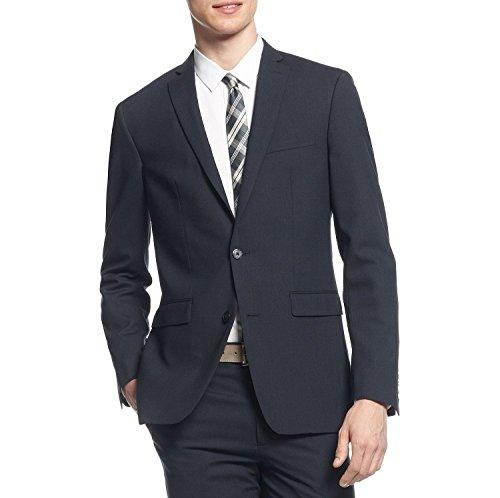 Bar III Mens Wool Extra Slim Fit Sportcoat Navy 36S