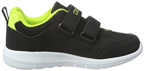 Kappa Calcio Kids - Zapatillas Niños Negro (Black/lime)