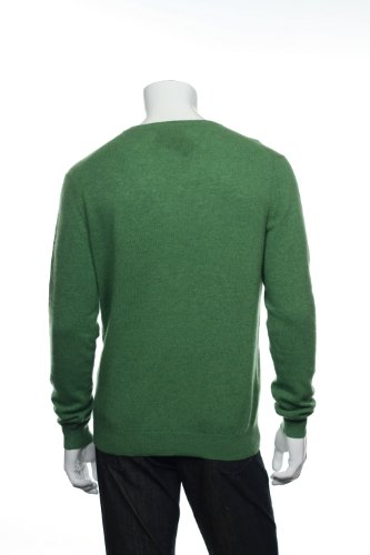 Club Room Green V-Neck Sweater, Size Large by Club Room (Image #3)