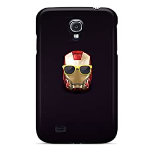 Protection Case For Galaxy S4 / Case Cover For Galaxy(hipster Iron Man 3 Helmet)