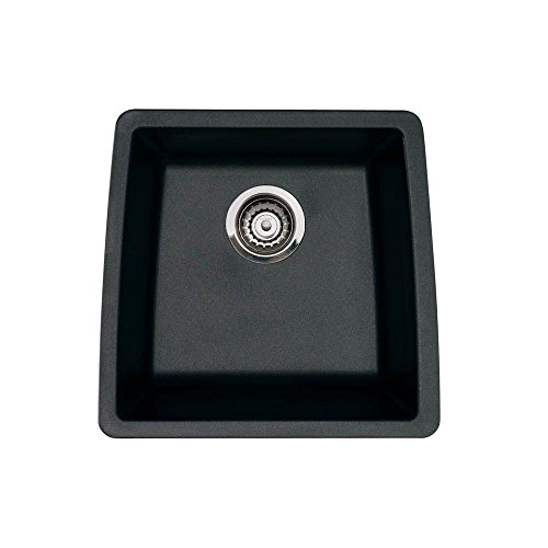 Blanco 440079 Performa Silgranit II Single Bowl Sink, Anthracite (Best Patent Bar Prep)