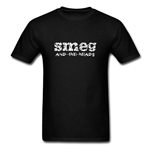 Price comparison product image EivonTS Customize Men's Smeg And The Heads T-Shirts black XX-Large
