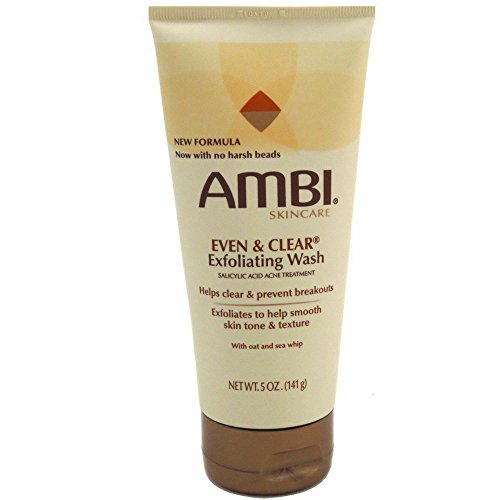Ambi Even & Clear Exfoliating Wash 5 oz(Pack of 2)