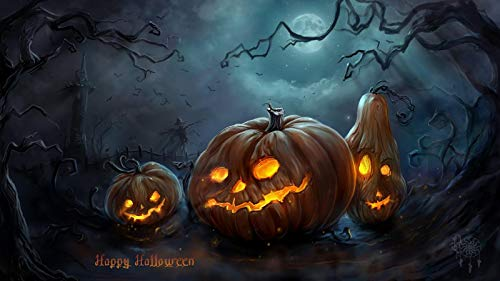 The History Of Halloween Article (Classic Jigsaw Puzzles 1000 Pieces Adults Puzzles Wooden Puzzles Halloween Night Pumpkin Head DIY Educational Puzzle Christmas Home Decor)