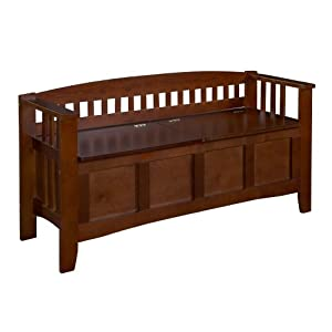 Linon Hunter Storage Bench