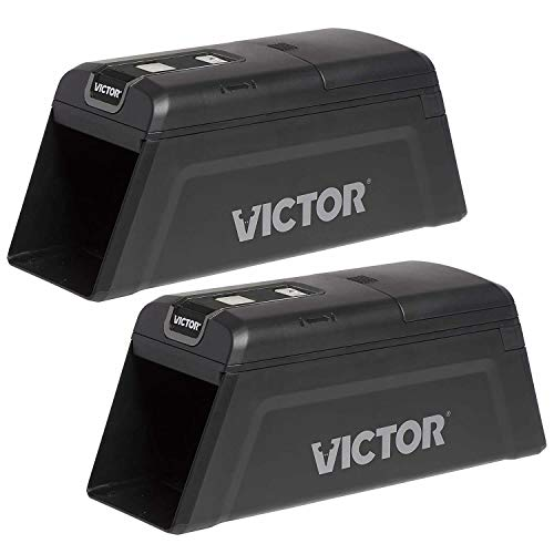 Victor M2-2P M2 Smart-Kill Wi-Fi Electronic Rat Trap-2 Pack, Black