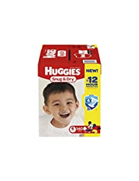 Huggies Snug & Dry Diapers, Size 6, 140 Count (One Month Supply) (Packaging may vary) BOBEBE Online Baby Store From New York to Miami and Los Angeles