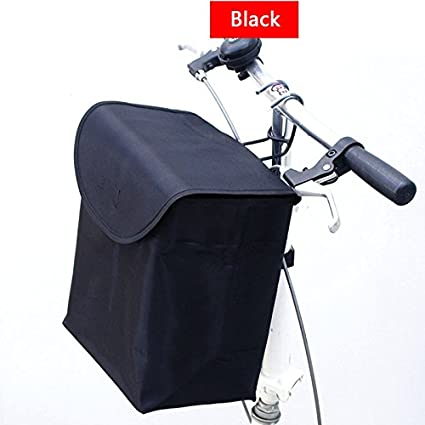 Perfect For No Bicycle Basket Bike Baskets Front Folding Detachable Cycling Bag