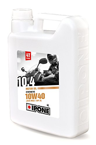 Ipone 800054 Aceite de Motor 10.4, 4 Tiempos, sinté tico, 10W40 4Tiempos sintético IPONE SA