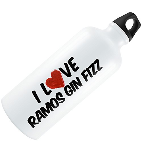 Water Bottle I Love Ramos Gin Fizz Cocktail 20oz / 600ML