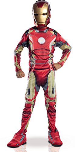 [Rubie'S Costume Avengers 2 Age Of Ultron Child'S Iron Man Mark 43 Costume,] (Iron Man Costume Age 8)
