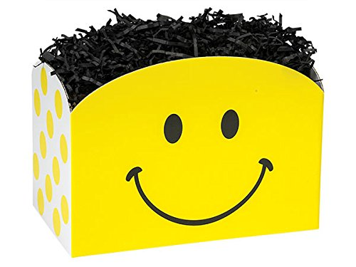 LARGE SMILEY Basket Boxes10-1/4