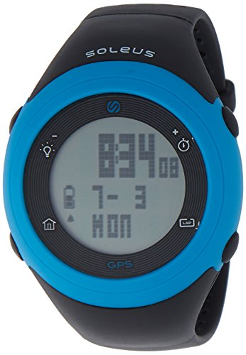 Soleus Unisex SG012-045 GPS Fly Digital Display Quartz Black Watch