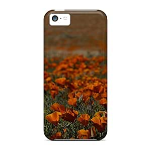 fenglinlinCharming YaYa Awesome Case Cover Compatible With ipod touch 4 - Orange Field