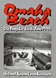 Front cover for the book Omaha Beach by Helmut-Konrad von Keusgen