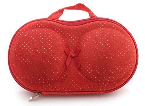 ADEPT Synthetic Travel Organizer Bra Bag  Multicolored