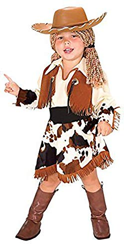 EVOLUTION Girls and Toddler Cowgirl Halloween -