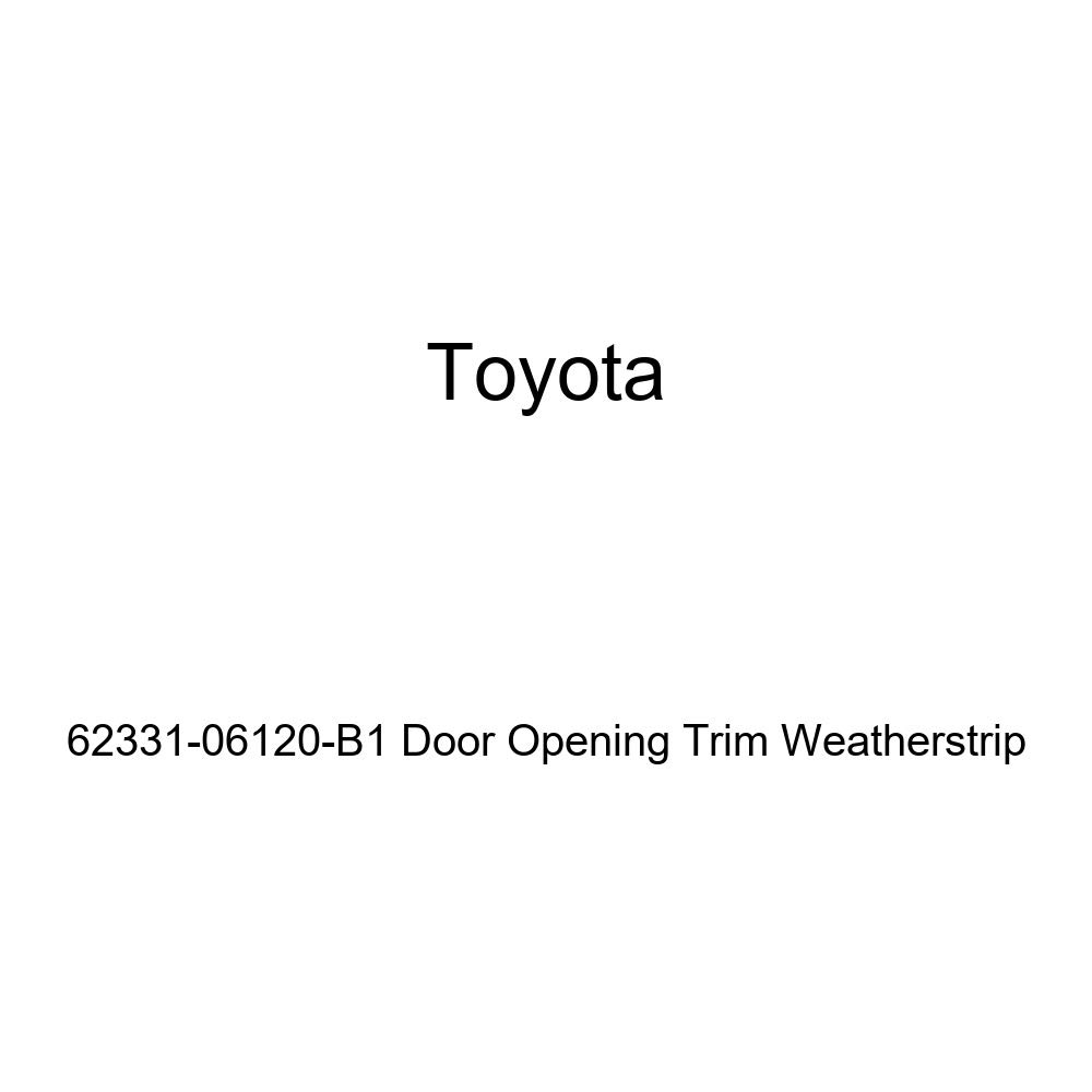 TOYOTA Genuine 62331-06120-B1 Door Opening Trim Weatherstrip